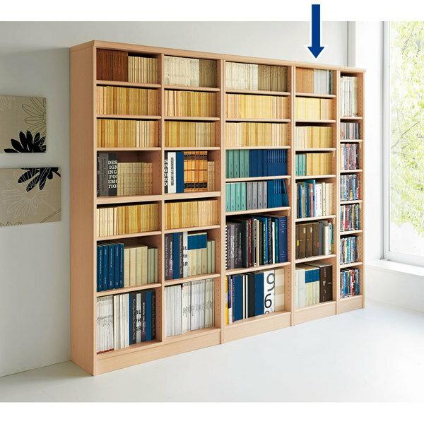 色とサイズが選べるオープン本棚 幅44.5cm高さ178cm【170915_hr】