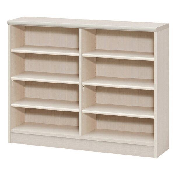 色とサイズが選べるオープン本棚 幅116.5cm高さ88.5cm