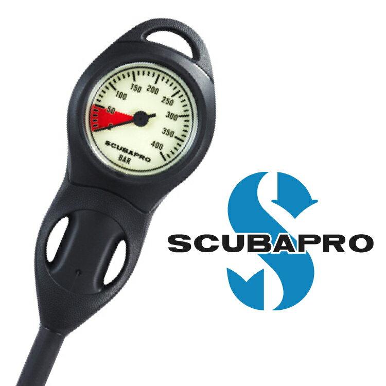 ダイビング 重器材 ゲージ SCUBAPRO スキューバプロ Sプロ コンパクト残圧計