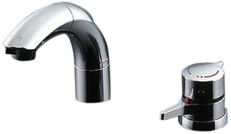 �新�】 TOTO 洗�用水栓 サーモスタット混�水栓 ��防止水抜�仕様 TLNW46Z (シャンプー水栓・ホース付�)