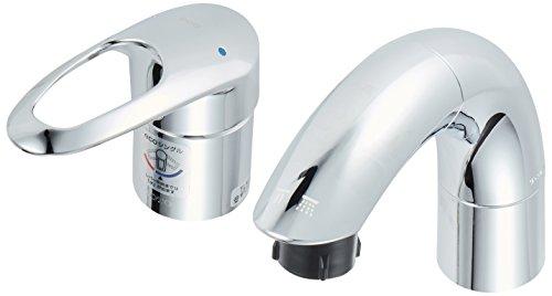 【新品】 TOTO 洗面用水栓 シングル混合水栓 TLNW36E (シャンプー水栓・ホース付き)