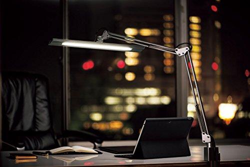【新品】 Z-LIGHT LEDデスクライト Z-10N B ブラック  明るさ2430Lx 連続調光