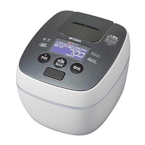 【新品】 タイガー 炊飯器 圧力IH 「炊きたて」 5.5合 グロスホワイトJPB-A100WG