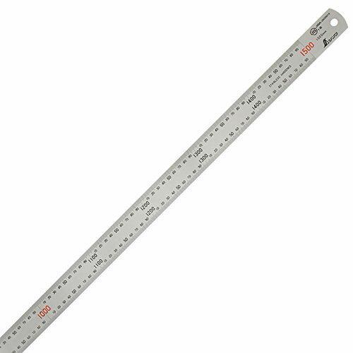 ウチダ シンワ ステンレス定規 150cm型 2.0mm厚 目盛:150cm