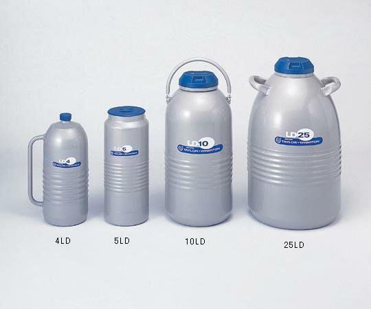 アズワン 液体窒素用デュワー瓶 6-7165-02 《保温・凍結保存容器》