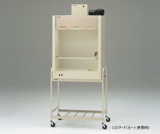 【代引不可】 アズワン コンパクトドラフト700(PVC製) 3-4056-21 【大型】《グローブボックス》 【メーカー直送品】