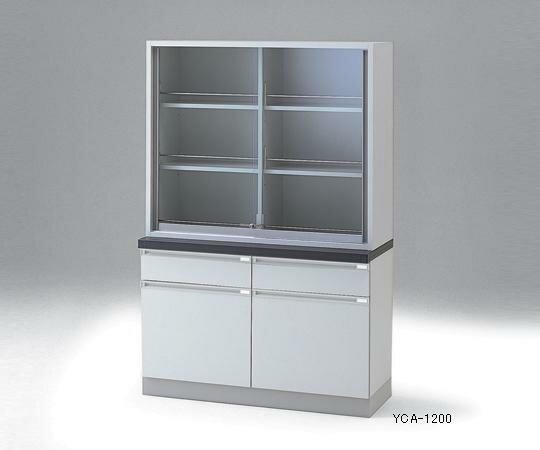 【代引不可】 アズワン 薬品器具戸棚 3-5841-01 【特大】《薬品庫》 【メーカー直送品】