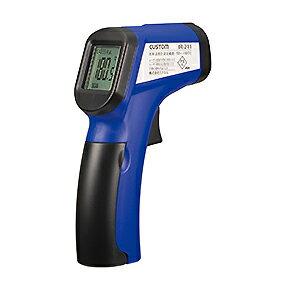 【ポイント10倍】 カスタム (CUSTOM) 放射温度計 IR-211