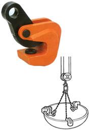 【ポイント10倍】 イーグル・クランプ VA型 形鋼横つり用クランプ VA-500-3-30 (16000300)
