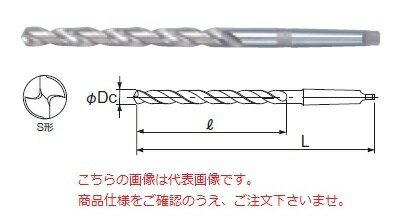 不二越 ハイスドリル LTD30.0X350 (テーパシャンクロングドリル)