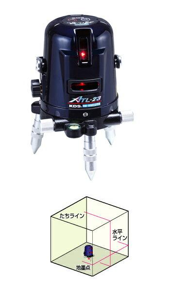 【ポイント5倍】 ムラテックKDS レーザー墨出器 ATL-23 (本体のみ)