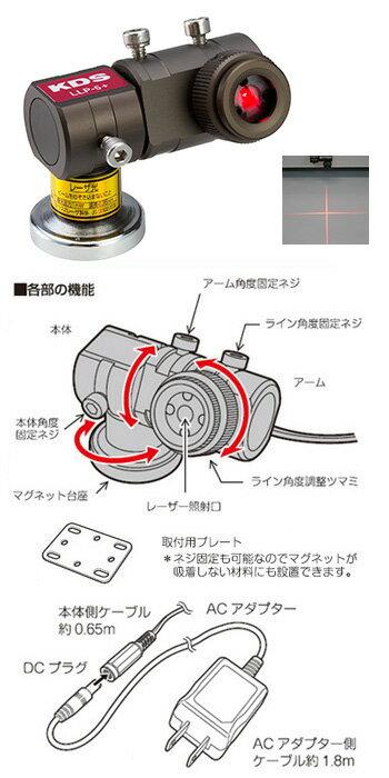 【ポイント5倍】 ムラテックKDS ラインレーザープロジェクター LLP-5+ (LLP-5plus)
