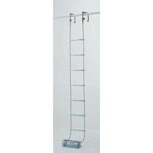 【代引不可】 PiCa (ピカ) 避難用 ワイヤーロープはしご(国家検定合格品) ER-53 【メーカー直送品】