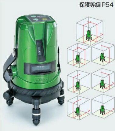 【ポイント10倍】 【代引不可】 TASCO (タスコ) 高輝度グリーンレーザー墨出し器 TA493AG 【メーカー直送品】