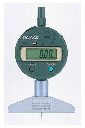 【ポイント5倍】 テクロック (TECLOCK) 普及型デジタルデプスゲージ DMD-210S2