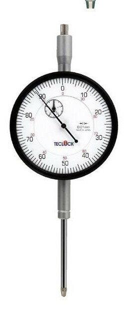 テクロック (TECLOCK) 大形長ストロークダイヤルゲージ KM-155