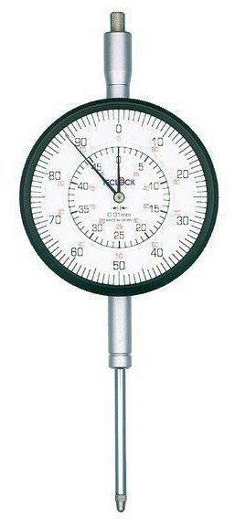 テクロック (TECLOCK) 大形長ストロークダイヤルゲージ KM-155D