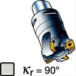 サンドビック コロミル490カッター 490-025C3-08M (562-0791) 《ホルダー》