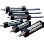 【送料無料】【代引不可】 TAIYO 油圧シリンダ 100H-21FB63BB200-AB (584-7176) 《油圧シリンダ》