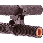 パンドウイット 回転式タイマウント 耐候性黒 100個入 TM3-X2-C0Y (477-5473) 《ケーブルタイ》