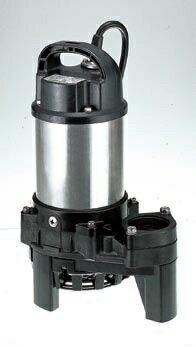 【ポイント5倍】 ツルミ (鶴見) 水中ポンプ 40PN2.25S 60HZ (樹脂製雑排水用水中ハイスピンポンプ)