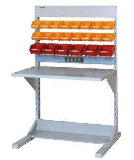【代引不可】 山金工業 ヤマテック ラインテーブル 間口900サイズ 両面・連結用 HRR-0913R-YC 【メーカー直送品】