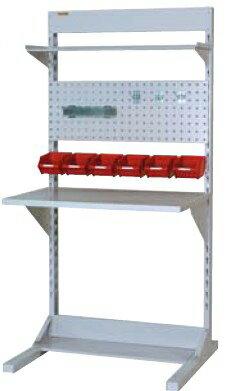 【代引不可】 山金工業 ヤマテック ラインテーブル 間口900サイズ 両面・連結用 HRR-0918R-TPY 【メーカー直送品】