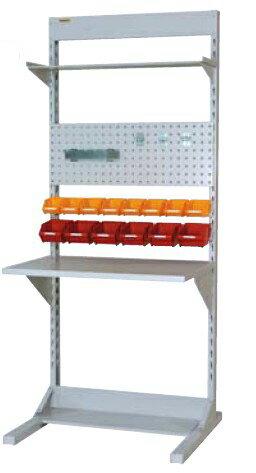 【代引不可】 山金工業 ヤマテック ラインテーブル 間口900サイズ 基本タイプ 両面用 HRR-0921-TPY 【メーカー直送品】