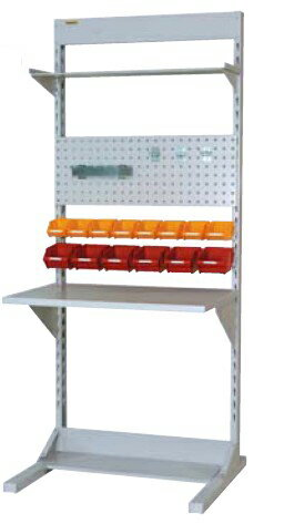 【代引不可】 山金工業 ヤマテック ラインテーブル 間口900サイズ 両面・連結用 HRR-0921R-TPY 【メーカー直送品】