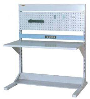 【代引不可】 山金工業 ヤマテック ラインテーブル 間口1200サイズ 基本タイプ 両面用 HRR-1213-PC 【メーカー直送品】