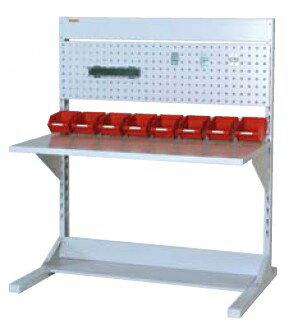 【代引不可】 山金工業 ヤマテック ラインテーブル 間口1200サイズ 基本タイプ 両面用 HRR-1213-PY 【メーカー直送品】