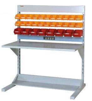 【代引不可】 山金工業 ヤマテック ラインテーブル 間口1200サイズ 両面・連結用 HRR-1213R-YC 【メーカー直送品】