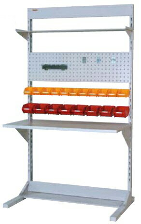 【代引不可】 山金工業 ヤマテック ラインテーブル 間口1200サイズ 両面・連結用 HRR-1221R-TPY 【メーカー直送品】