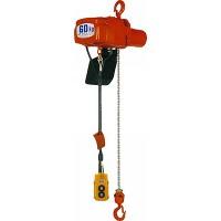 【代引不可】 象印 懸垂式小型電気チェーンブロック αHB-01 (100kg 揚程3m 二速型) 【メーカー直送品】