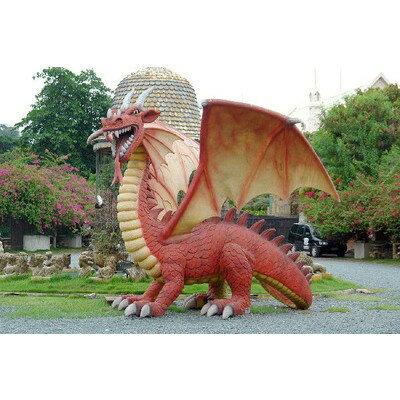 全長450cm!ドラゴン(翼竜)超巨大フィギュア(恐竜ビッグフィギュア)