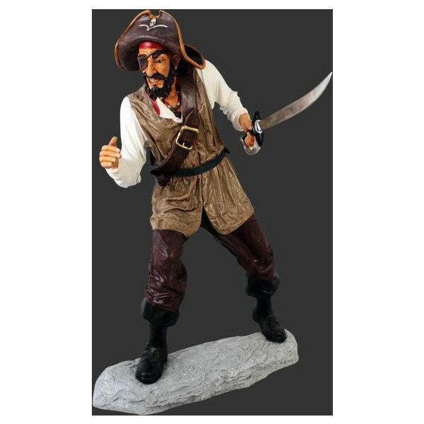 剣を持つキャプテンパイレーツ(海賊船長)・等身大フィギュア