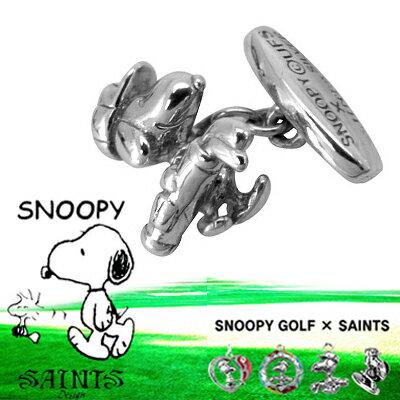 snpy-c-02/スヌーピーゴルフカフスボタン/SAINTS/セインツ
