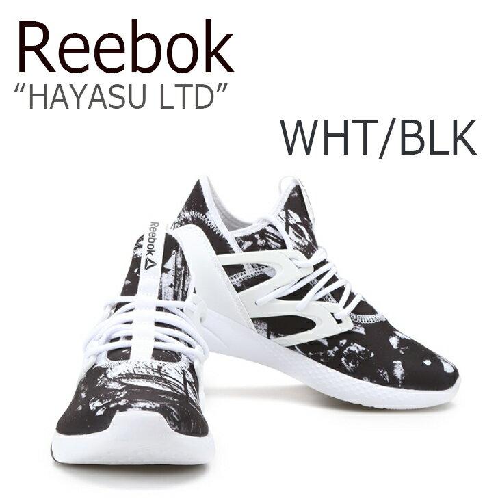 【送料無料】Reebok HAYASU LTD/White/Black【リーボック】【ハヤス】【BD4971】 シューズ