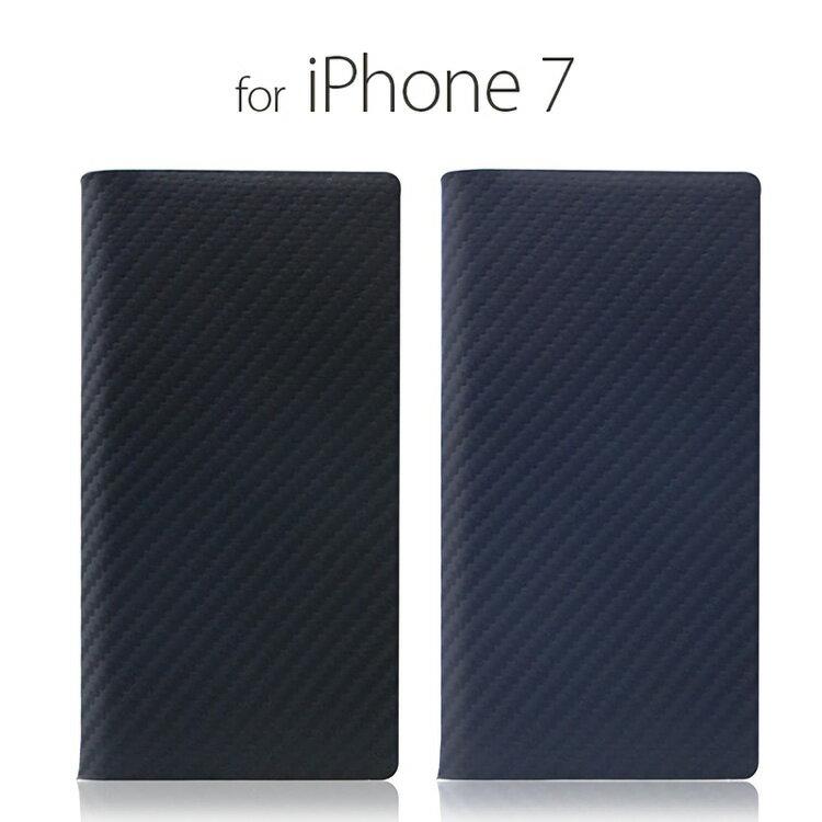 お取り寄せ iPhone8 iPhone7 ケース 手帳型 SLG Design Carbon Leather Case エスエルジーデザイン カーボンレザーケース アイフォン 本革 カバー