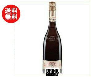 【送料無料】モンテ物産 ドネリ グレープ・スパークリング・ローズ 750ml瓶×6本入 ※北海道・沖縄・離島は別途送料が必要。