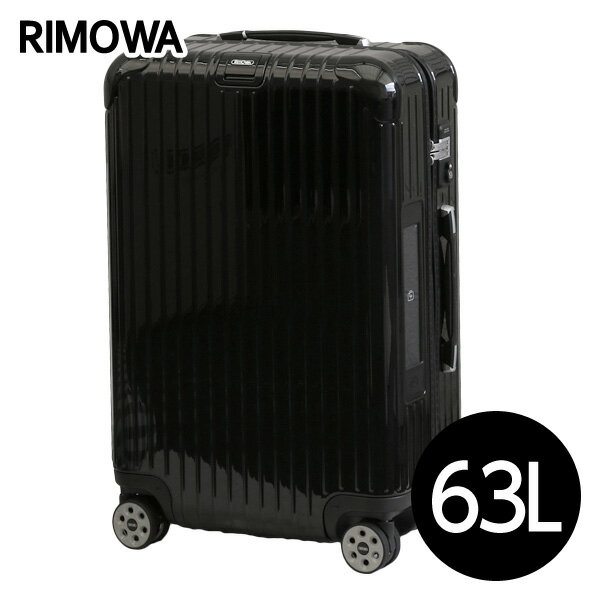 リモワ RIMOWA サルサ デラックス 63L ブラック E-Tag SALSA DELUXE ELECTRONIC TAG マルチホイール スーツケース 831.63.50.5