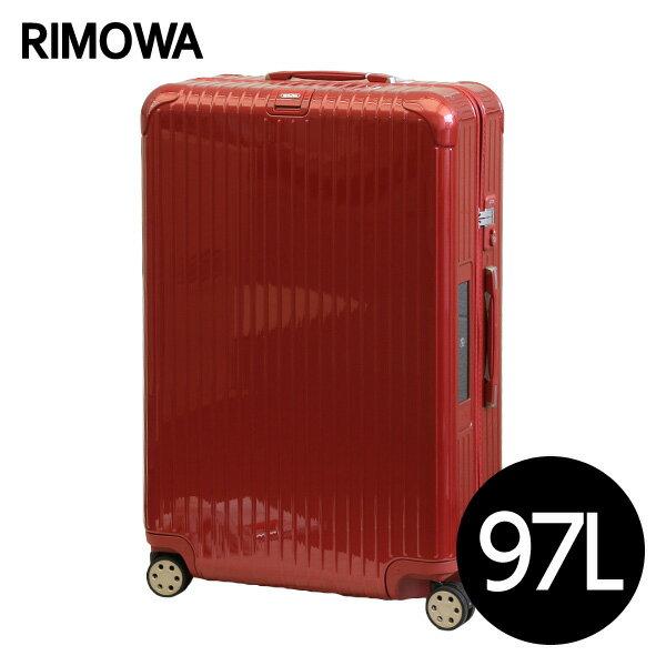 リモワ RIMOWA サルサ デラックス 97L オリエンタルレッド E-Tag SALSA DELUXE ELECTRONIC TAG マルチホイール スーツケース 831.77.53.5
