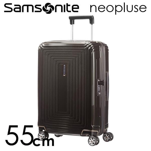 サムソナイト ネオパルス スピナー 55cm メタリックブラック Samsonite Neopulse Spinner 38L 65752-2368