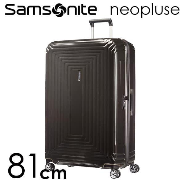 サムソナイト ネオパルス スピナー 81cm メタリックブラック Samsonite Neopulse Spinner 124L 65756-2368