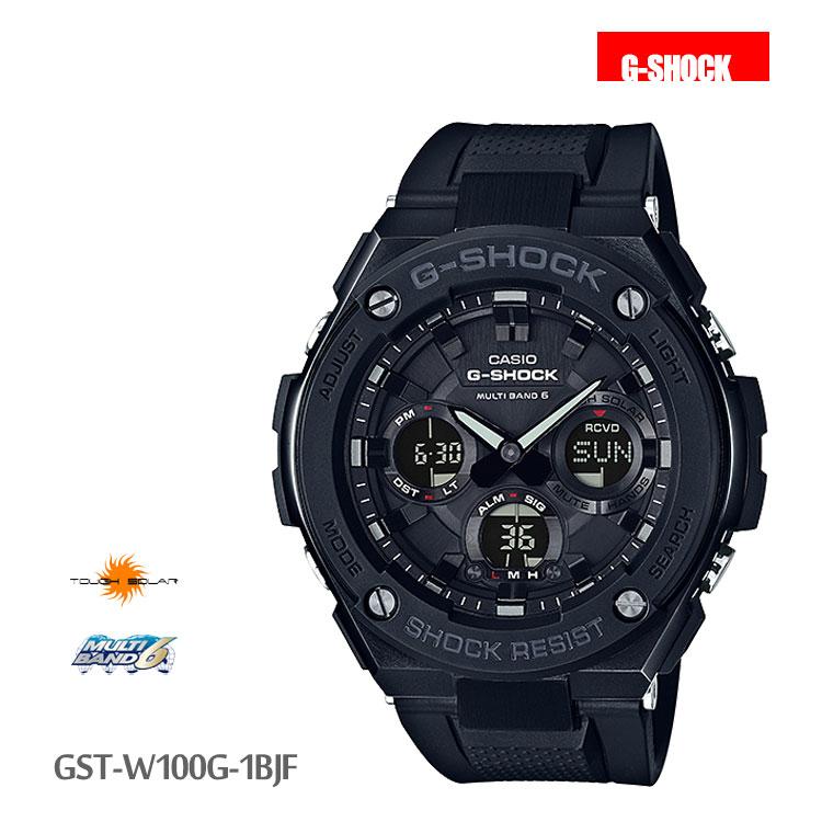 カシオ CASIO G-SHOCK Gショック 黒 GST-W100G-1BJF 腕時計