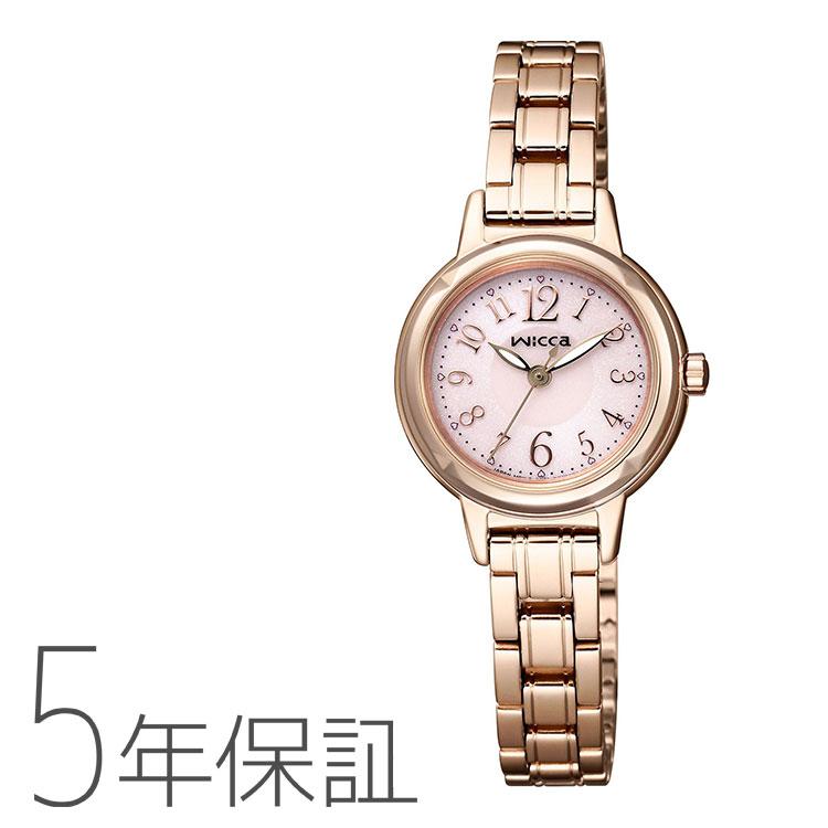 シチズン CITIZEN wicca ウィッカ ソーラー電源 kh9-965-91腕時計 レディース