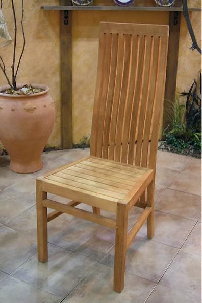 【メーカー直送】 ハイバックチェア ガーデンチェア チェアー イス 椅子 チーク ガーデン ガーデニング 20811 ジャービス商事 JARBIS