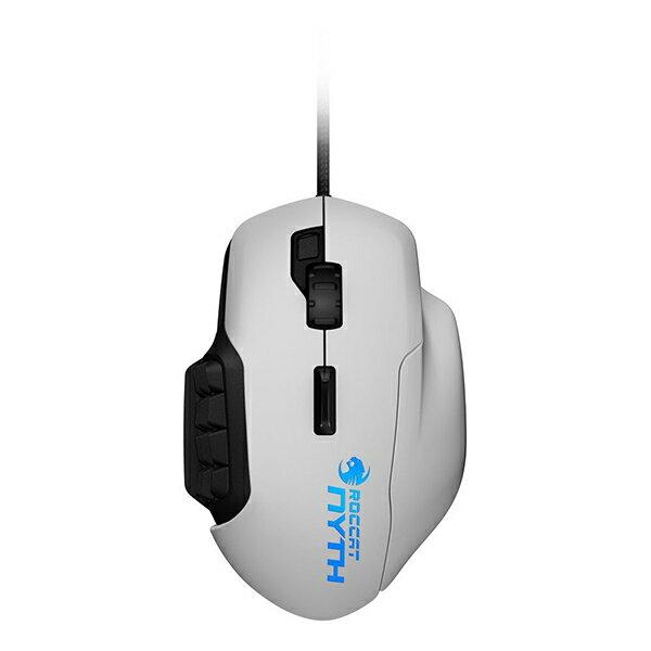 【お取り寄せ】ROCCAT Nyth - MMO Gaming Mouse(White)【ROC-11-901-AS】Windows 10対応ゲーミングマウス【送料無料】