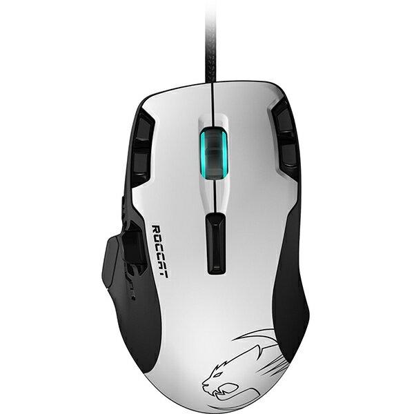 【お取り寄せ】ROCCAT Tyon All Action Multi-Button Gaming Mouse (White) 【ROC-11-851-AS】Windows 10対応ゲーミングマウス【送料無料】