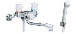 【LIXIL】【リクシル】シャワーバス水栓・シャワー専用水栓 浴槽・洗い場兼用2ハンドル ミーティス[BF-M115H]【INAX】【イナックス】